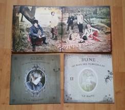 Détail du vinyle (réédition 2015)