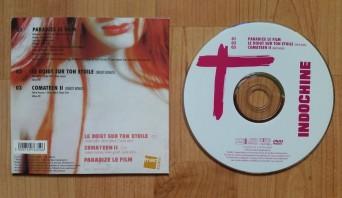 Verso du DVD (offert avec les 30'000 premiers exemplaires de l'album)