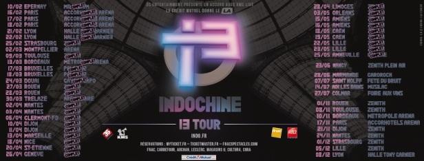 13 Tour (28 novembre 2017)