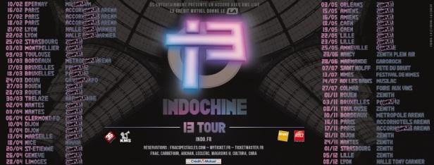 Dates 13 Tour (après annonce Musilac)