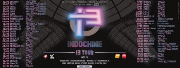 Dates 13 Tour (après St-Etienne)