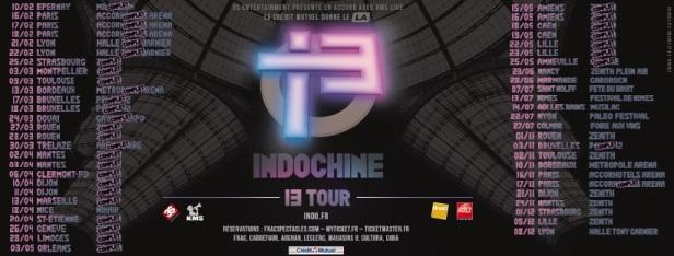 Dates 13 Tour (MàJ annonce Musilac)
