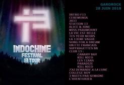 Setlist 13 Tour Festivals (Garorock 28 juin 2018)