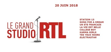 Setlist Grand Studio RTL - 20 juin 2018