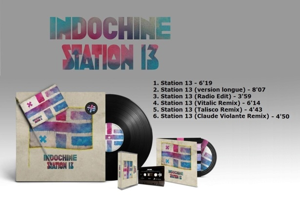 Sortie supports Station 13 (tracklist)