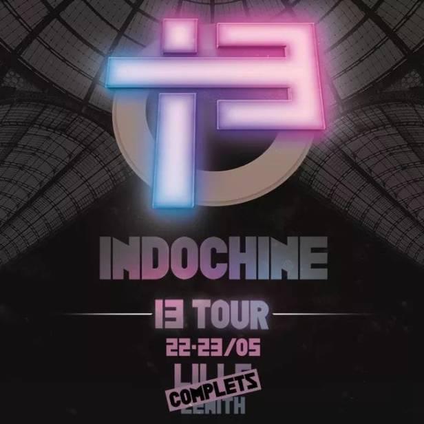 Concert 13 Tour à Lille (22 & 23 mai 2018)