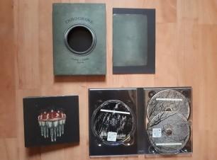 DVD et CD ouverts